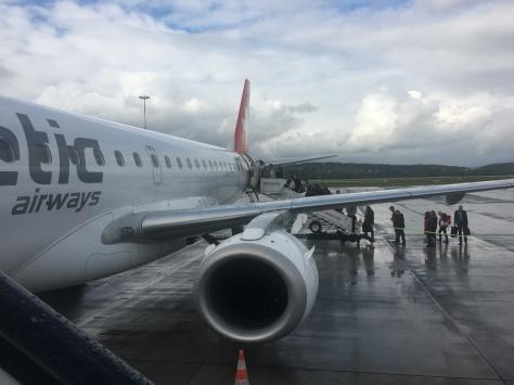 Swissair ZUR-EWR